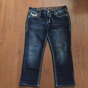 Rock Revival crop jeans size 32